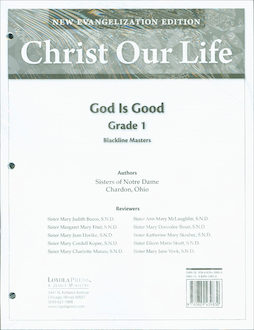 Christ Our Life: New Evangelization, K-8: Grade 1, Blackline Masters