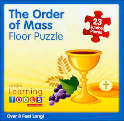 Adaptive Finding God, Grades 1-8: Order of the Mass Floor Puzzle