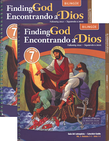 Encontrando a Dios, K-8: Grade 7, Catechist Guide Kit, Parish Edition