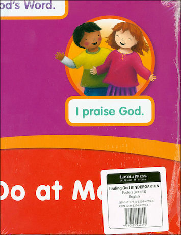 Finding God, Kindergarten: Kindergarten, Poster Set