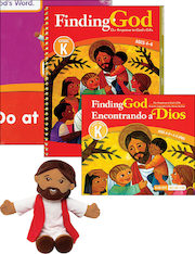 Finding God, K–8: Kindergarten, Catechist Guide Kit, Parish Edition