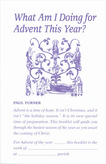 What Am I Doing for Advent This Year?