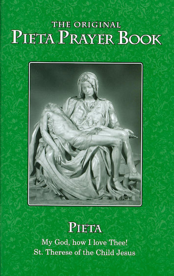 Pieta Prayer Book, Large Print