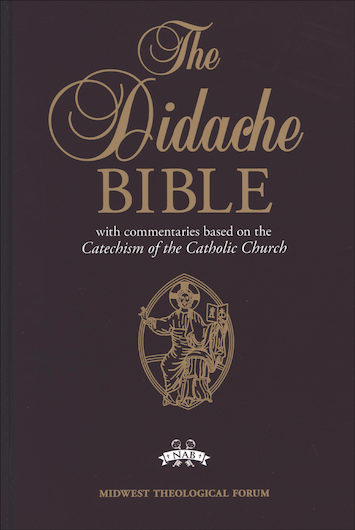 NABRE, The Didache Bible, hardcover
