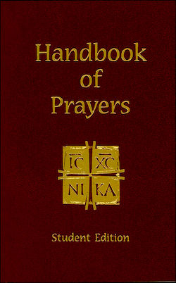Handbook of Prayers, Student Edition
