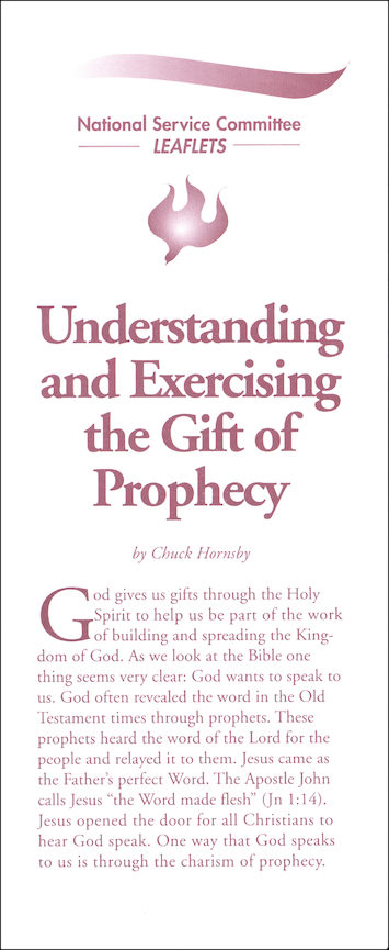 Understanding and Exercising the Gift of Prophecy