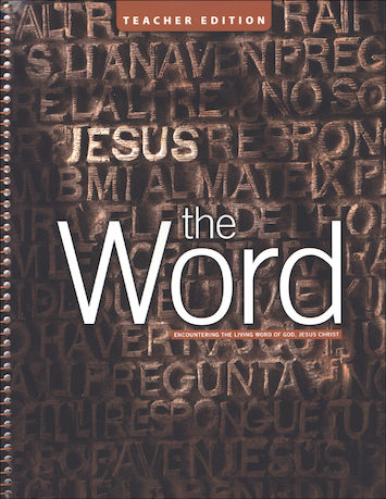 The Cornerstone Series: The Word, Teacher Manual