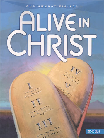 Alive in Christ 1-8: Grade 4, Student Book, School Edition
