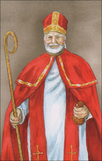 Alive in Christ 1-8: St. Nicholas, Grade 1, People of Faith Cards