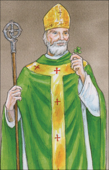 Alive in Christ 1-8: St. Patrick, Grade 1, People of Faith Cards