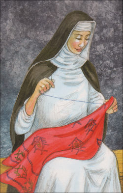 St. Rose of Lima, Grade 1 People of Faith Cards