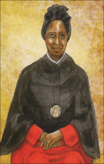Alive in Christ 1-8: St. Josephine Bakhita, Grade 1, People of Faith Cards
