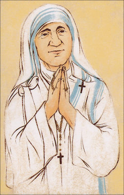 Blessed Mother Teresa of Calcutta, Grade 2 People of Faith Cards