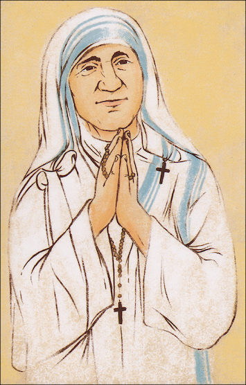 Alive in Christ 1-8: Blessed Mother Teresa of Calcutta, Grade 2, People of Faith Cards