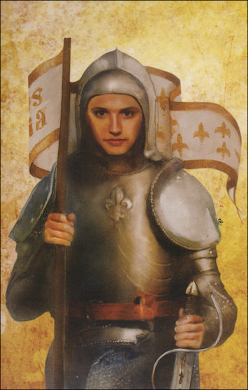 Alive in Christ 1-8: St. Joan of Arc, Grade 4, People of Faith Cards