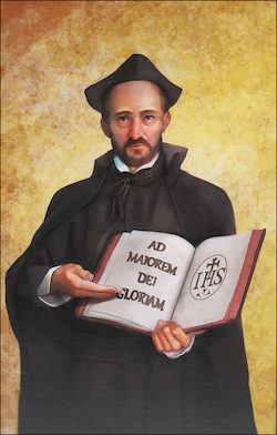 St. Ignatius Loyola, Grade 6 People of Faith Cards