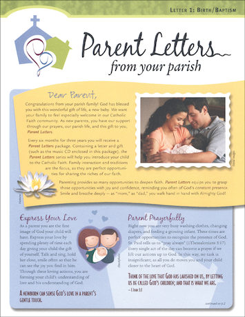 Parent Letters from Your Parish