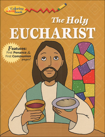 The Holy Eucharist Coloring and Activity Book