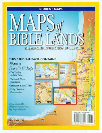 Maps of Bible Lands, Student Sets