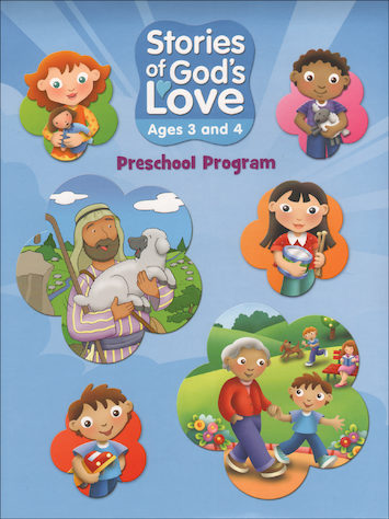 Stories of God's Love: Story Leaflets, Ages 3-4, Student Book