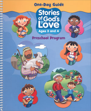 Stories of God's Love: Ages 3-4, Catechist Guide, Parish Edition
