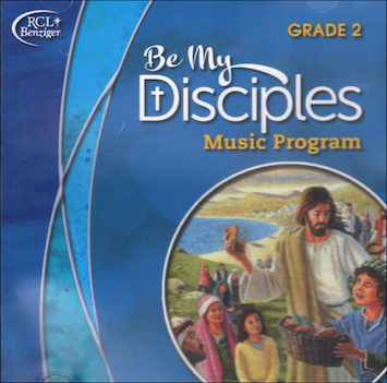 Be My Disciples, 1-6: Grade 2, Music CD