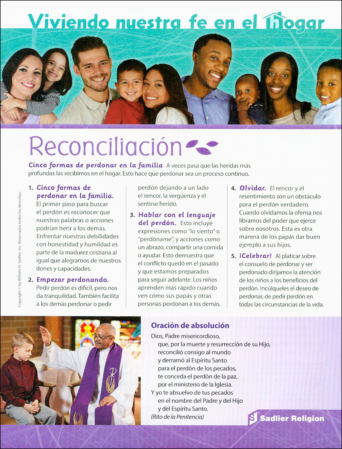 creer celebrar vivir  la reconciliaci u00f3n  living our faith at home  reconciliation  10