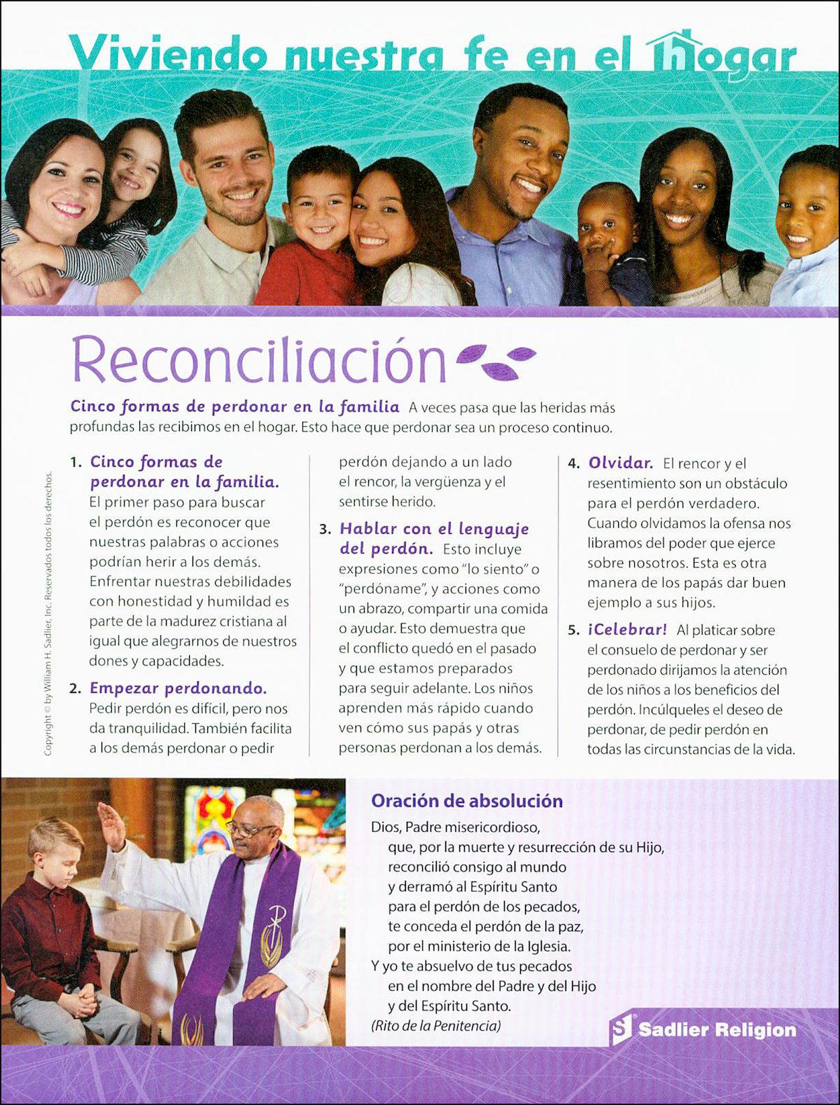creer celebrar vivir  la reconciliaci u00f3n  living our faith at home  reconciliation  10