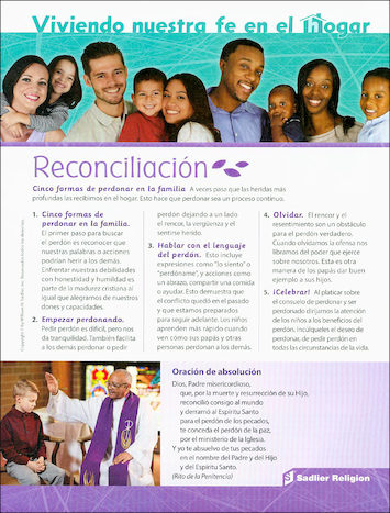 Creer Celebrar Vivir: La Reconciliación: Living Our Faith at Home: Reconciliation, 10-pack, Parent Magazine