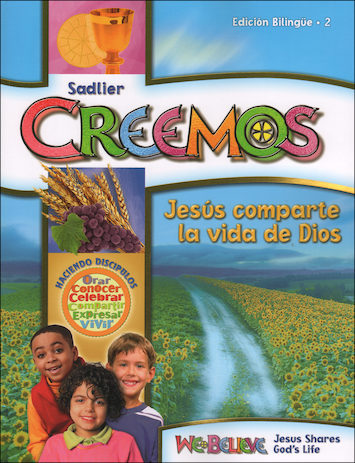 We Believe with Project Disciple, K-6: Jesús comparte la vida de Dios, Grade 2, Student Book, Parish Edition