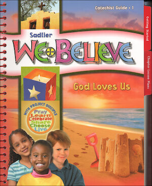 We Believe with Project Disciple, K-6: Grade 1, Catechist Guide, Parish Edition