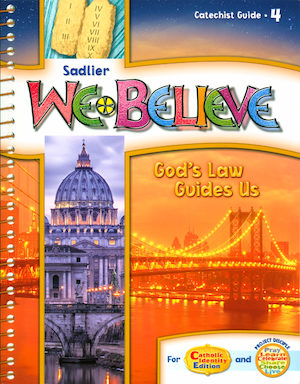 We Believe with Project Disciple, K-6: Grade 4, Catechist Guide, Parish Edition