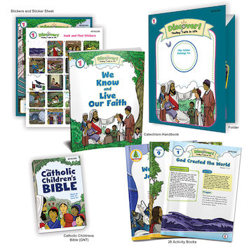 Discover! Finding Faith in Life, 1-5: Grade 1, Student Kit, School Edition