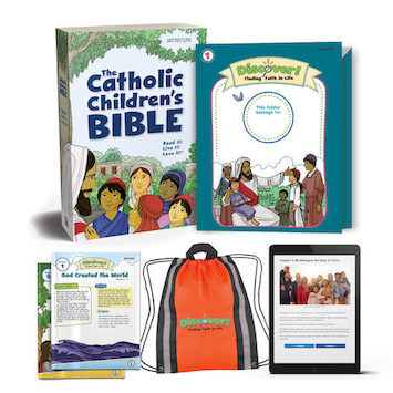 Discover! Finding Faith in Life, 1-5: Grade 1, Student Kit, Parish Edition
