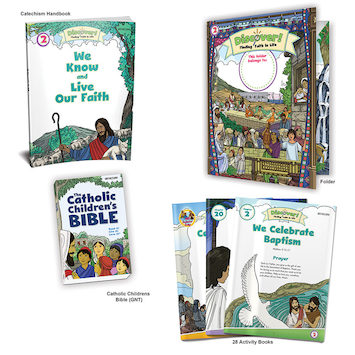 Discover! Finding Faith in Life, 1-5: Grade 2, Student Kit, School Edition