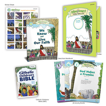Discover! Finding Faith in Life, 1-5: Grade 4, Student Kit, School Edition