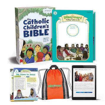 Discover! Finding Faith in Life, 1-5: Grade 5, Student Kit, Parish Edition