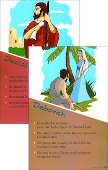 GNT, Breakthrough! The Bible for Young Catholics: Breakthrough! Bible People, Old Testament, Poster Set