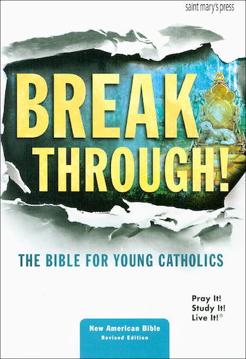 NABRE, Breakthrough! The Bible for Young Catholics, hardcover