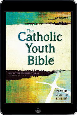 NRSV, The Catholic Youth Bible, 4th Ed., ebook (1 Year Access)
