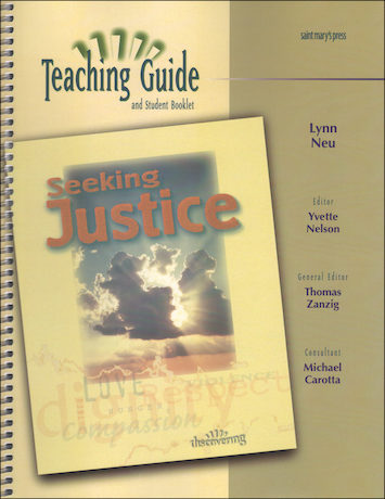 Discovering, Jr. High: Seeking Justice, Catechist Guide, Parish Edition