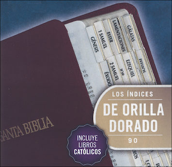 Bible Indexing Tabs: Etiquetas de Indizacion para biblias, 10-pack