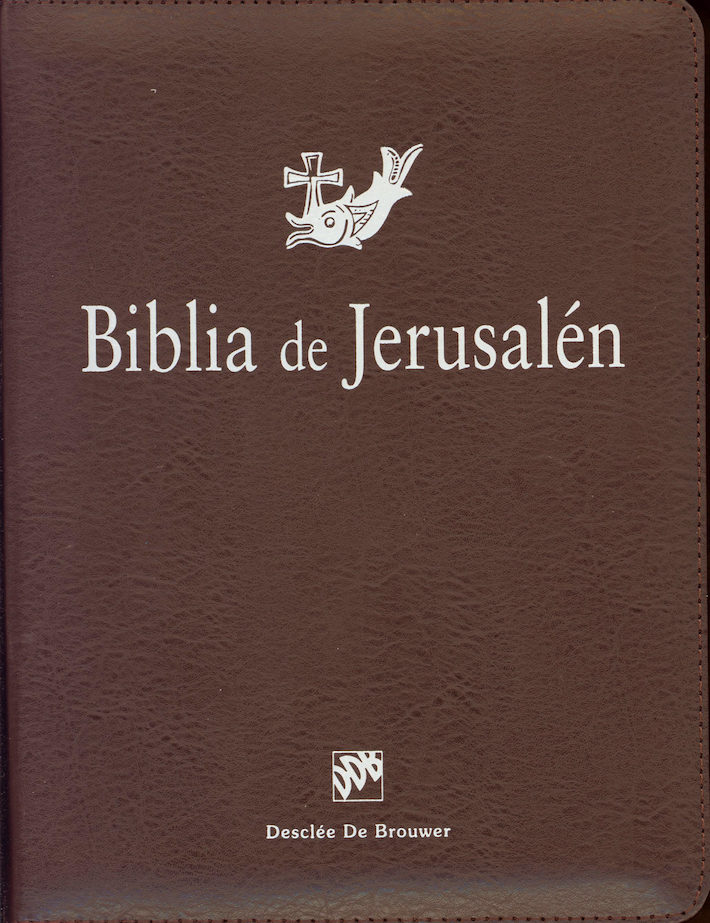 Biblia de Jerusalén, leather-like