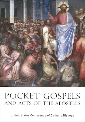 NABRE, Pocket Gospels and Acts of the Apostles, softcover
