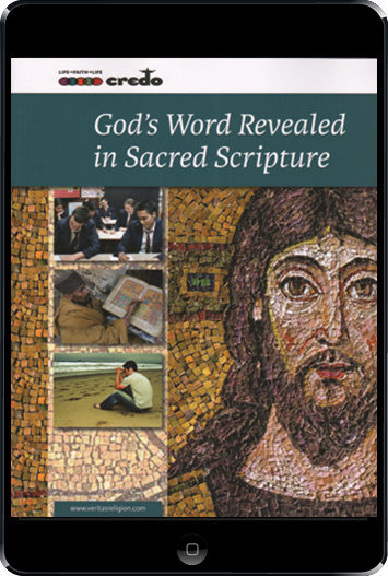 The Credo Series: God's Word Revealed In Sacred Scripture ebook (1 Year Access), Student Text